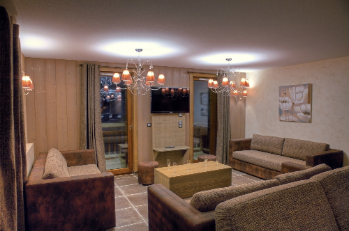 Living room, Balcons de Val Thorens Platinum