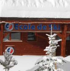 View of ESF office, place Caron, Val Thorens