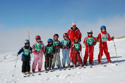 Ski school group, ESF Val Thorens