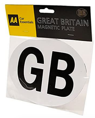 AA magnetic GB sticker