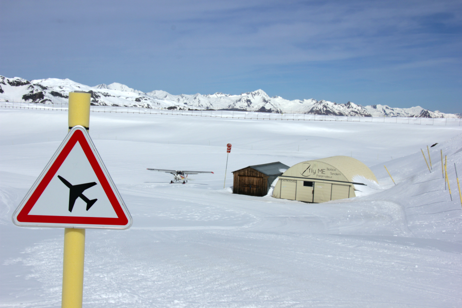 Airstrip in Val Thorens