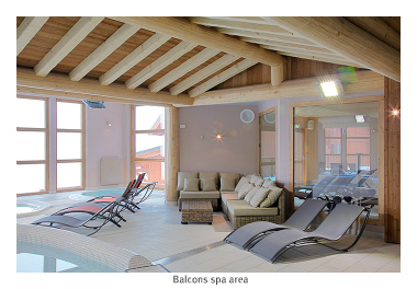 Spa area, Les Balcons de Val Thorens