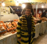 Honey stall, Val Thorens market