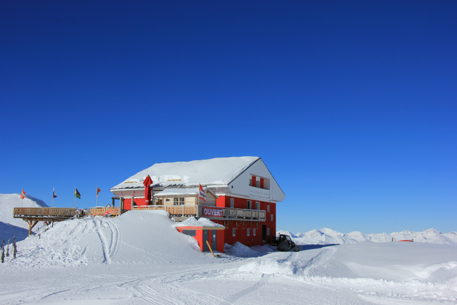 Caribou mountain restaurant, Val Thorens