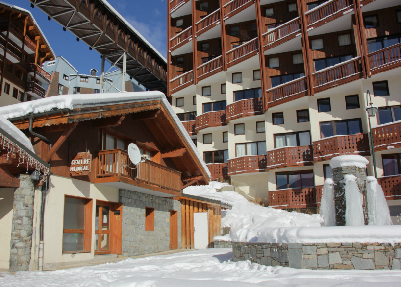Medical centre, rue du Soleil, Val Thorens