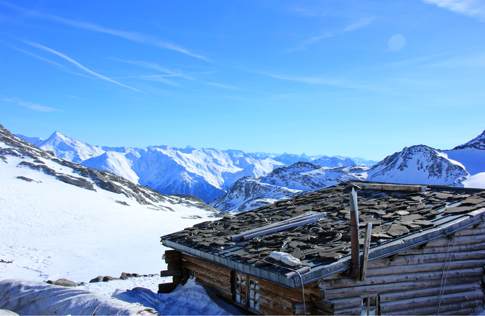 View from Col, Val Thorens