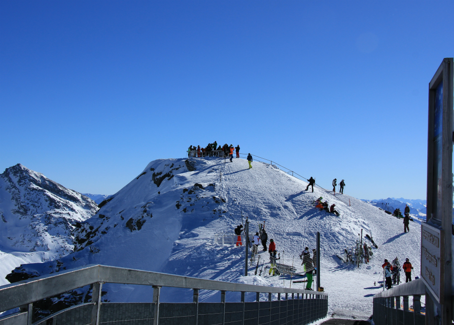 Cime de Caron viewpoint, Val Thorens