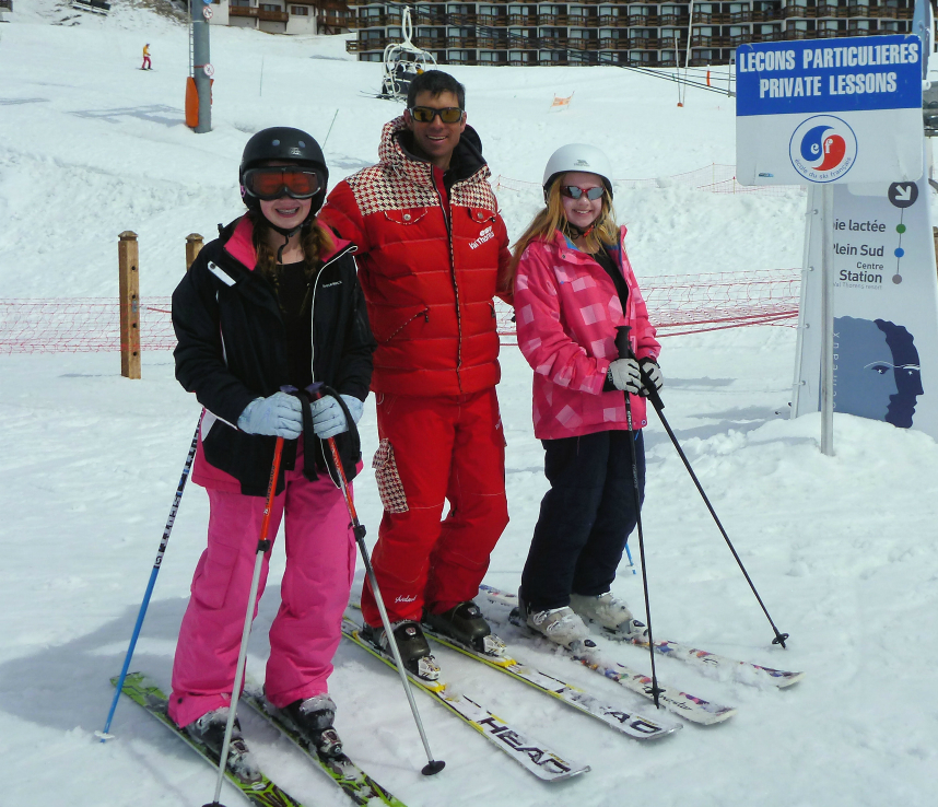 Private lesson in Val Thorens