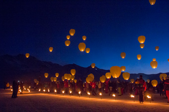 Chinese lanterns, Val Thorens