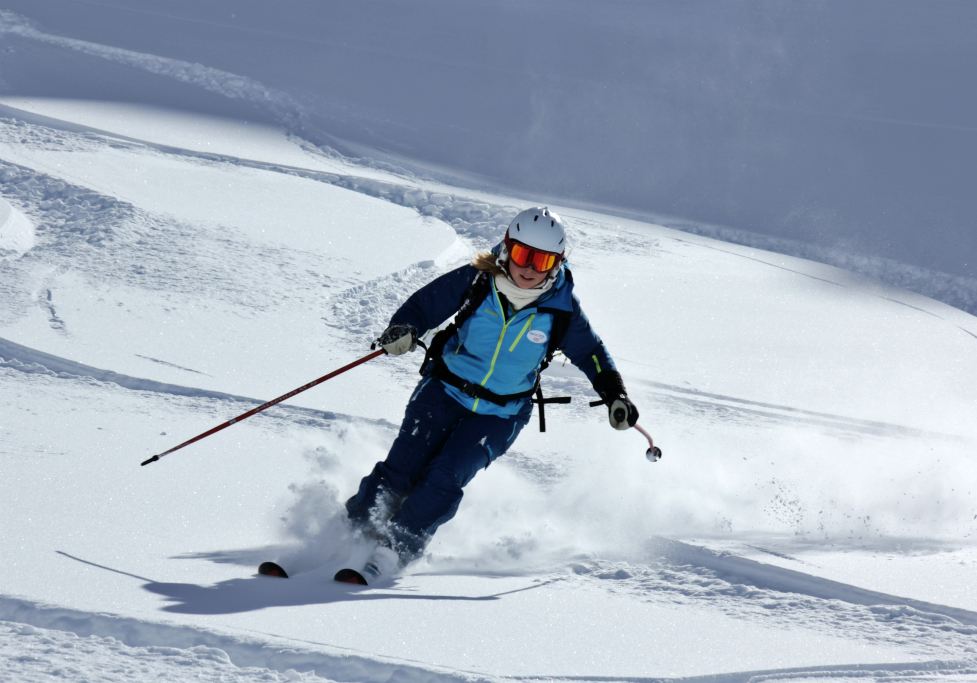 Ski Cool instructor, Val Thorens