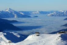 Sea of cloud, seen from Mont de la Chambre