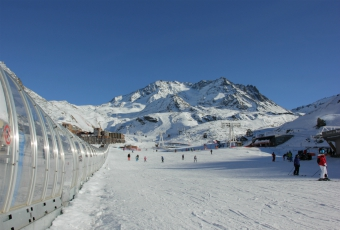 Beginners area in Val Thorens