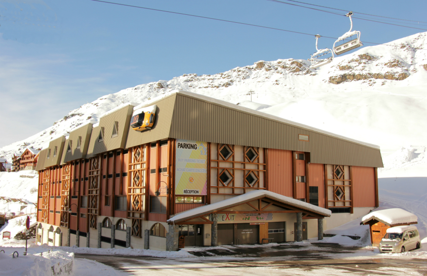 Parking P0 Val Thorens