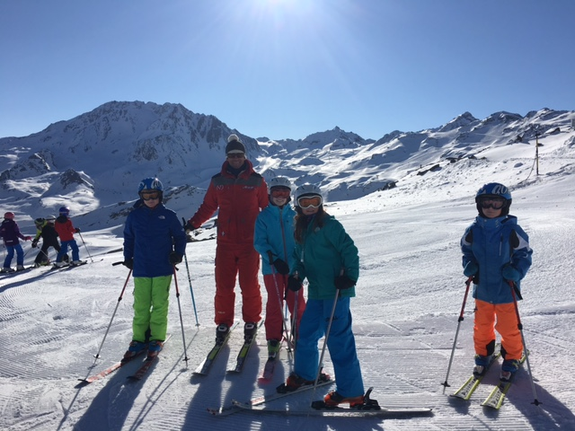 Private lessons in Val Thorens, Easter 2016