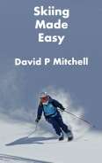Front over of Skiing Made Easy learn to ski ebook