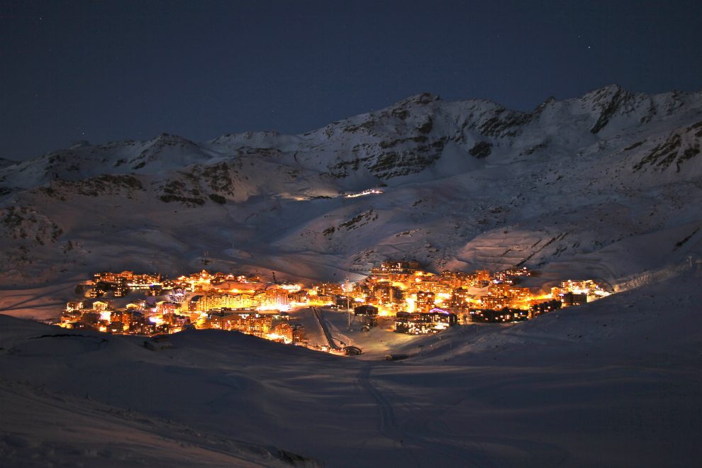 Val Thorens by night - 2