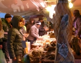Cold meats, Val Thorens market