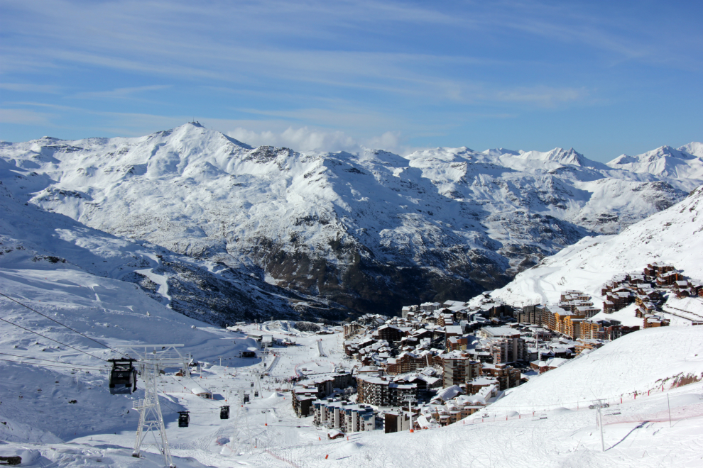 View of Val Thorens, 26th November 2016