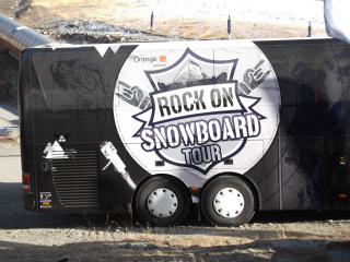 Val Thorens events, December 2012, Rock On Snowboard Tour