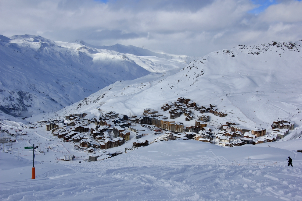 Val Thorens on 12th December 2017