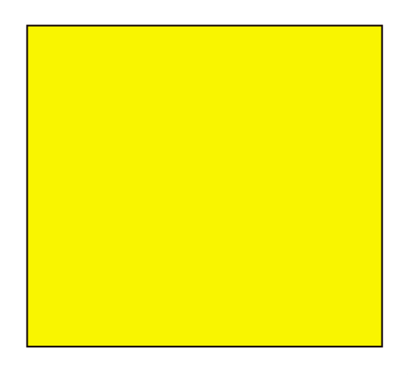 Yellow avalanche flag for risk 1 or 2