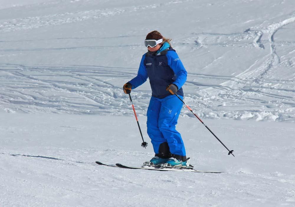 Ski posture